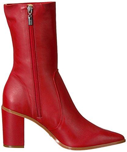 Schutz Women's Anaflor Mid Calf Boot Scarlet 66TuY6