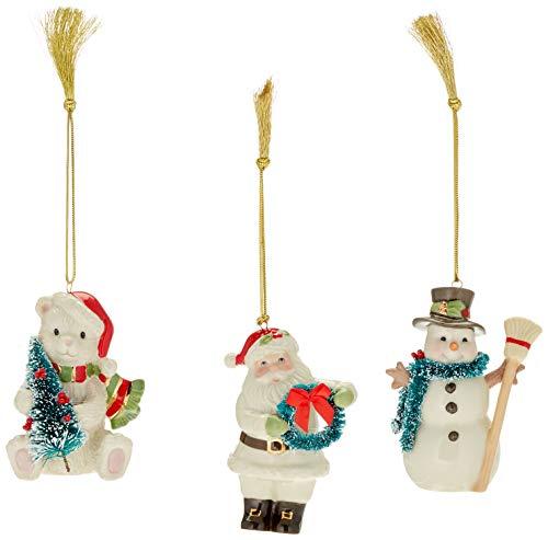 Lenox Winter Wonderland Ornament Set of 3, 3 -