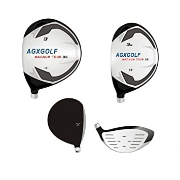AGXGOLF Men s Left Hand Magnum Complete Golf Club Set w Oversize Driver, 3 Wood, 3 Hybrid Callaway Style 5-9 Irons PW SW, Free Putter Cadet Regular or Tall Length Built in The USA
