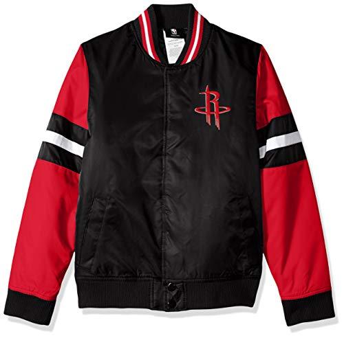 Outerstuff NBA NBA Youth Boys Houston Rockets Legendary Varsity Jacket, Black, Youth Large(14-16)
