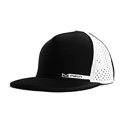 Melin Amphibian Snapback Hat - (Black/White)