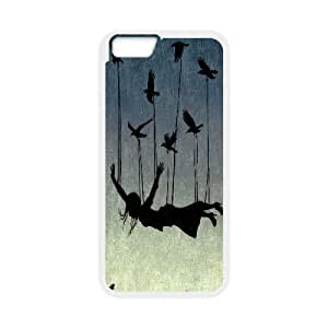 IPhone 6 Cases Surrealism Fly, IPhone 6 Cases Surrealism, [White]