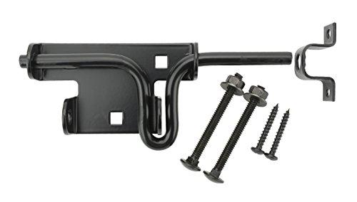 Bolt Spring Slide (Specialty Hardware 6inch Slide Bolt Black Coated Pack of 15)