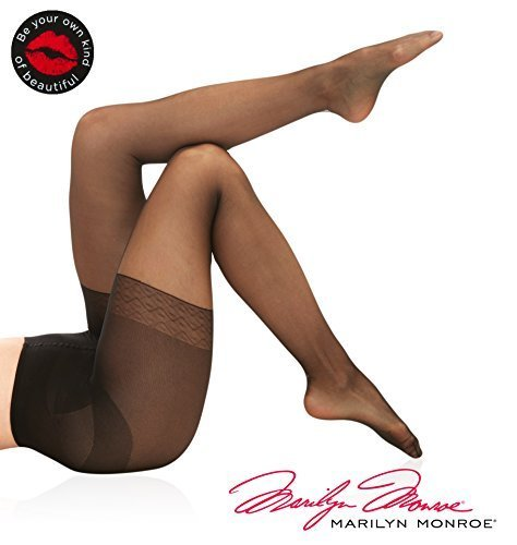 Marilyn Monroe Basic Womens Pantyhose Sheers Tights Stockings