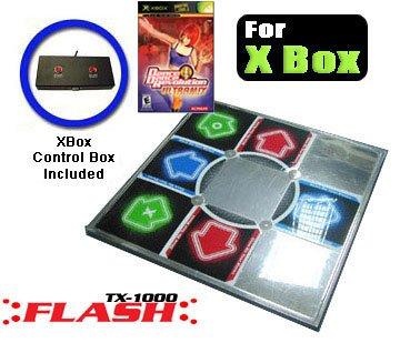 Xbox Metal Dance Pad - Dance dance revolution DDR ULTRAMIX XBOX game and 1 Dance dance revolution DDR METAL XBOX DANCE PAD