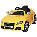 YASHAV Officially Version Audi TT Rs Plus Ride On Kids Car ( Yellow )