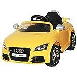YASHAV Officially Version Audi TT Rs Plus Ride On Kids Car ( Yellow )