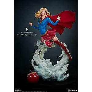 41%2BE8OFYDVL. SS300 Sideshow DC Comics Supergirl Premium Format Figure Statue by Stanley 'Artgerm' Lau