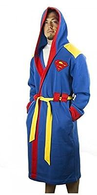 DC Comics Superman Super Hero Fleece Bathrobe with Hood