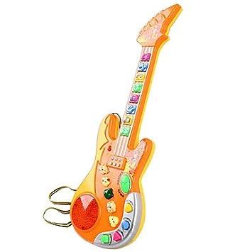 Guitarra para Niños (juguete) Cute - Guitarra eléctrica: Amazon.es: Instrumentos musicales
