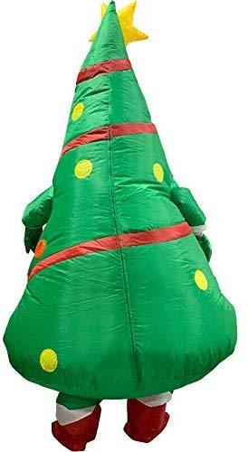 iSunday - Disfraz de árbol de Navidad Hinchable para Adultos ...
