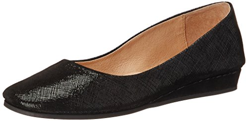 Suola Francese Zeppa Slip On Shoes Nero Cartizze