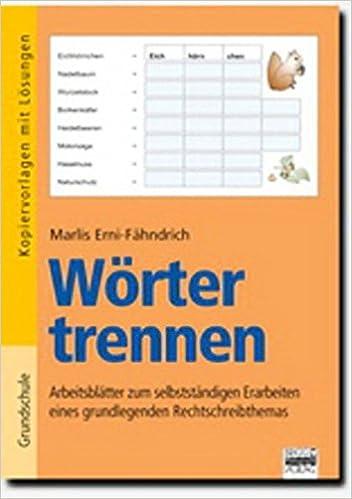 Brigg Deutsch Grundschule Schreiben Wörter Trennen
