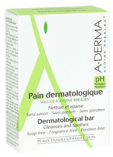 A-derma Dermatological Bar Cleanses and Soothes 100g Skin Capital
