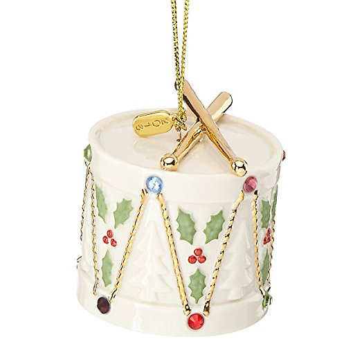 - Lenox 2016 Holiday Gems Drum Ornament New Rare item