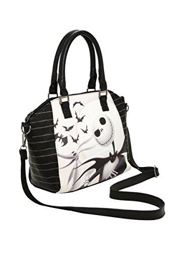 Loungefly The Nightmare Before Christmas Jack Skellington Satchel Bag (Jack Skellington Tote Bag)