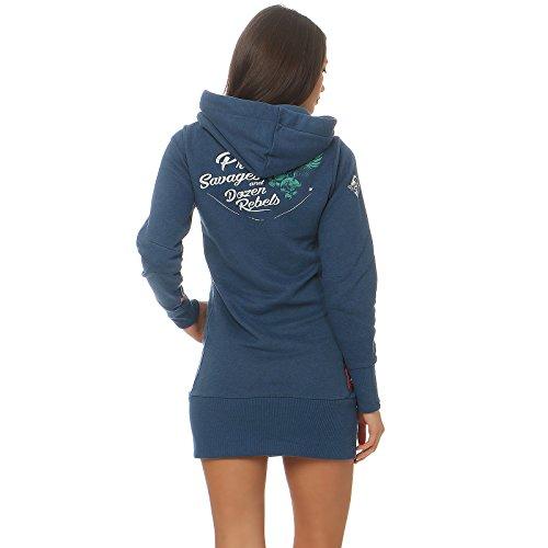 Yakuza Premium - Sweat-shirt - Femme Bleu bleu