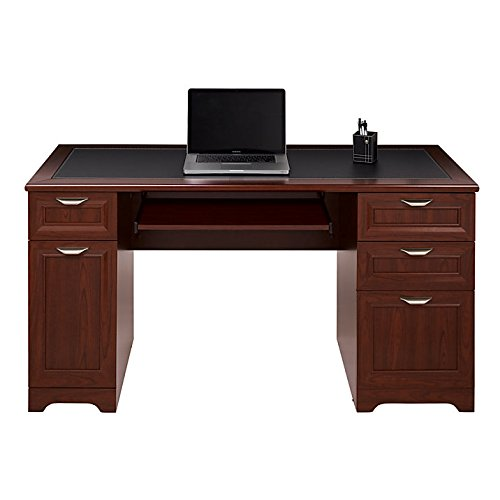 Realspace Magellan Managers Desk, Classic Cherry (Realspace Magellan Performance Collection L Desk Espresso)