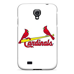 Hot Tpu Cover Case For Galaxy/ S4 Case Cover Skin - Cardinals