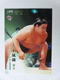 BBM2015大相撲カード「レジェンド」至宝■レギュラーカード■56小結/小城錦