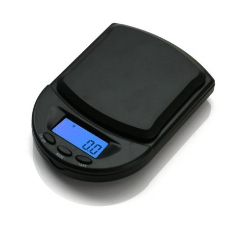 (AWS DIGITAL POCKET SCALE 650X0.1G BLACK BCM-650-BK)