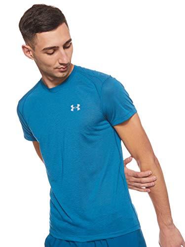 Under Armour Herren UA Streaker 2.0, atmungsaktives Laufshirt für Männer, kurzärmliges Sportshirt mit enganliegender Passform
