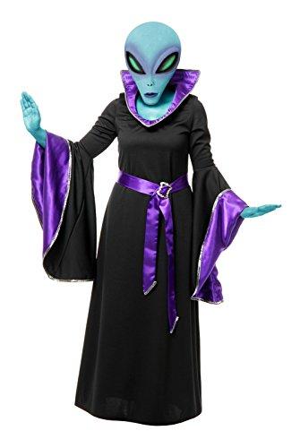 Alien Queen Gown Adult Costume - Womens Medium