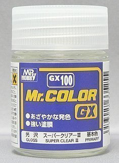 Mr. Color GX100 Super Clear III 18ml paint by Mr. Hobby ()