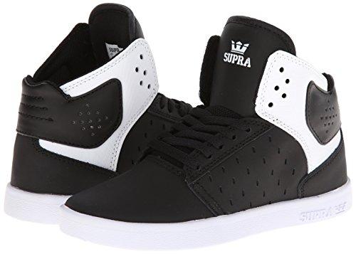 973cd2bd3fc4b Supra Boys-Big Kids Kids Atom Black Casual Sneakers 2 M US ...