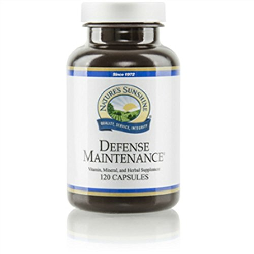 Naturessunshine Defense Maintenance Supports Immune System 120 Capsules (Pack of 2)