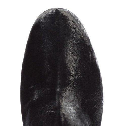 banquetes salones gray Botas de GRAY de Botas tacones de altos trabajo otoño invierno 0708FD 34 Zapatos 37 botas Mostrar de Señora artificial para Cabello afqwAp