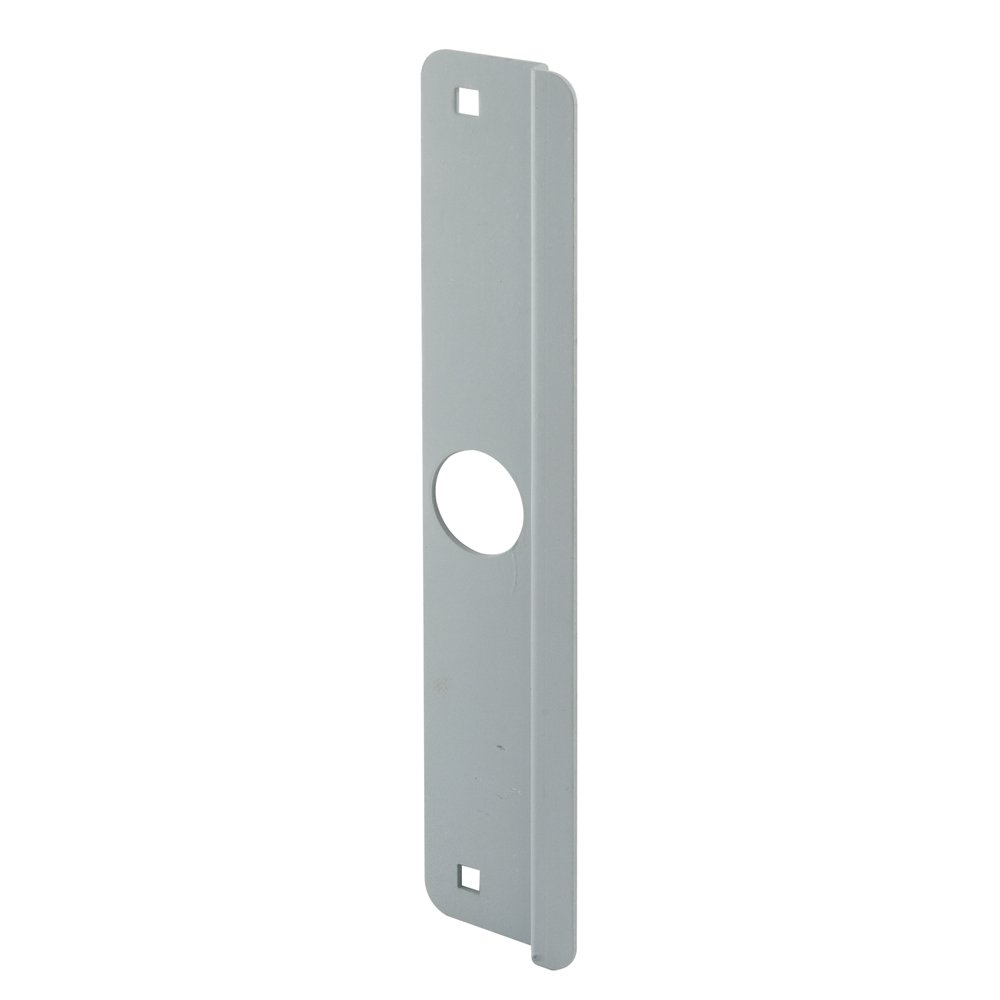 Defender Security U 9507 Latch Guard Outswing, 2-5/8-Inch by 12-Inch, Gray Steel