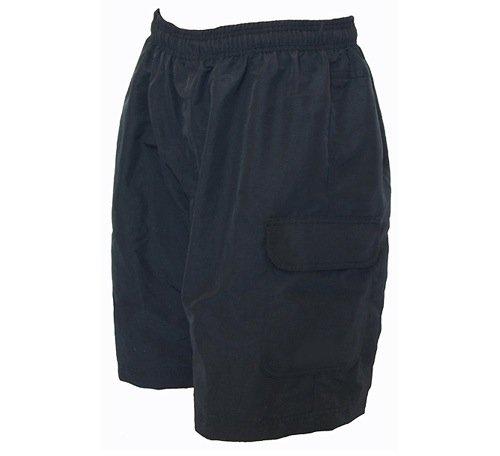 BDI Men's Mountain Bike Cargo Short, Black, Large (Bike Bdi Shorts)