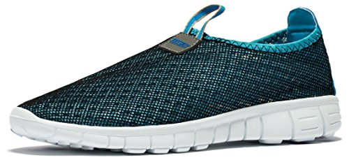 9adfd8577ca5b Venustus Men s Breathable Mesh Slip On Loafers Outdoor Sport Running Shoes