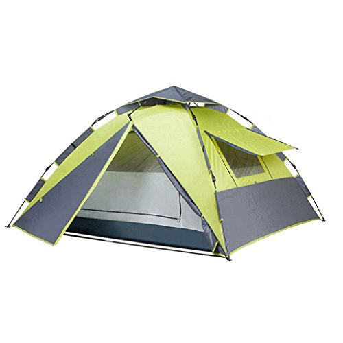 提案ポジションクロールZP テント、アウトドア2人3-4人キャンプ用防雨家庭用自動盛りテント huwaizhangpeng