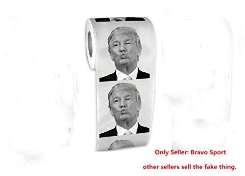 Bravo Sport – FBA – donald trump toilet paper – Best Quality Novelty Political Gag Gift