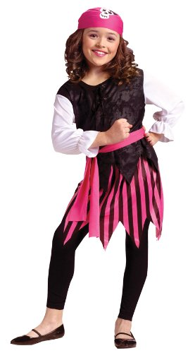 Girls Caribbean Pirate Girl Costume - Child (Four Seasons Girls Costumes)