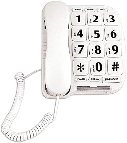 Phone for Elderly Amplified Phones for Hearing Impaired Seniors with Loud Handsfree Speakerphone