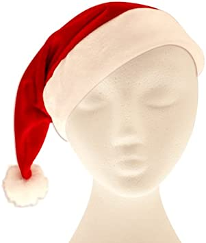 CHRISTMAS SANTA FELT HATS ADULT UNISEX FAMILY XMAS FANCY DRESS COSTUME LOT
