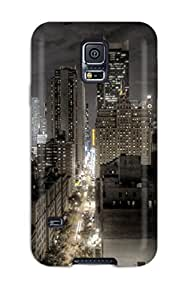 Hot FMjGtRt9694DHzhE Case Cover Protector For Galaxy S5- Manchester City At Night by Maris's Diary