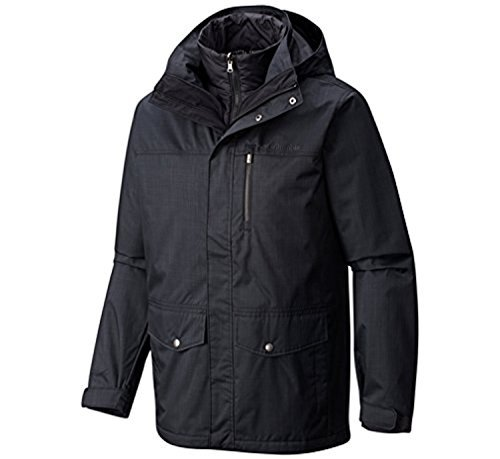 Columbia Men's Eagle's Call Interchange Jacket Black - Mens Performance Eagle Jacket