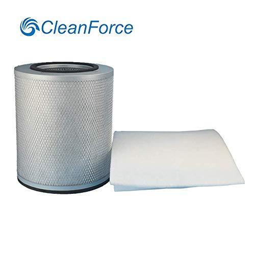 CleanForce Replacement Filter Compatible with Austin HealthMate Junior (HM200), HealthMate Junior Plus (HM250) Air Purifier with Prefilter (Austin Pre Filter)