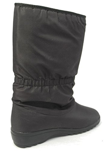 Womens Ladies Thermal Fur Lined Waterproof Breathable Warm Winter Snow Boots Black Size 3 4 5 6 7 8 XC1XQqS7gR