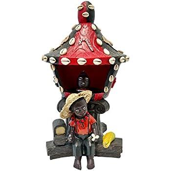Amazon.com: Santo Orisha Elegua Baby Face Estatua Orisha ...