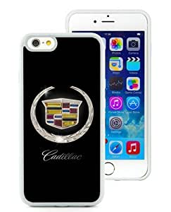 Cadillac logo White Best Buy Customized Design iPhone 6 4.7 Inch Silicone TPU Case