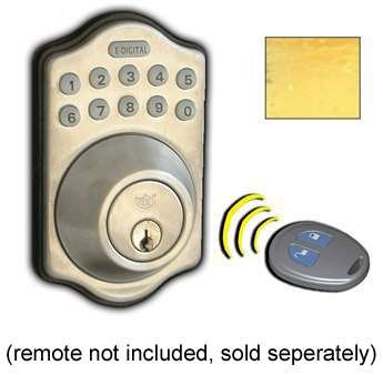 E-910-R-BB Electronic Deadbolt