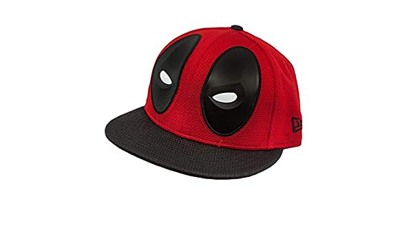 New Era Deadpool Character Armor 59Fifty Fitted Hat at Amazon Mens Clothing store: