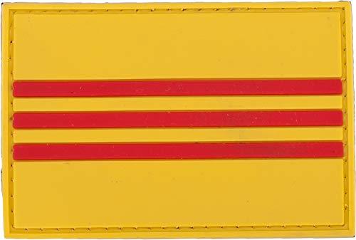 (Evike PVC Hook and Loop International Flag Patch (Flag: Republic of Vietnam))