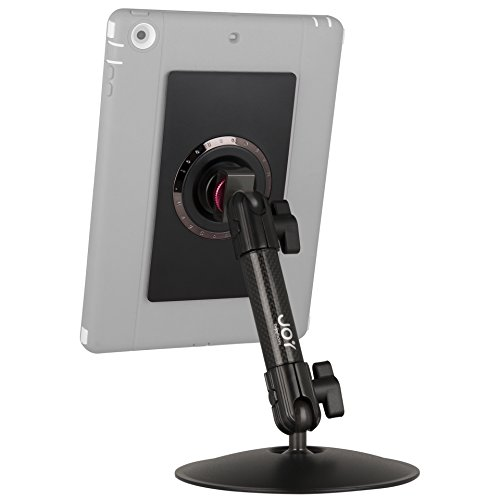 The Joy Factory MagConnect Carbon Fiber Desk Table Counter Mount Holder with Universal Tablet Module for Tablets ()