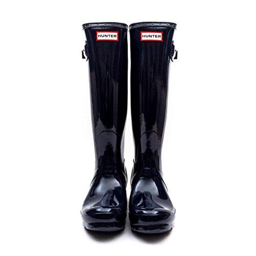 Hunter Boots Original Tall Gloss - Bottes De Neige Bottes De Pluie D'eau Femmes Unisexe